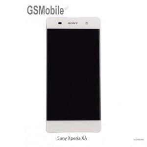 Ecrã - Display LCD Touch Sony Xperia XA Branco
