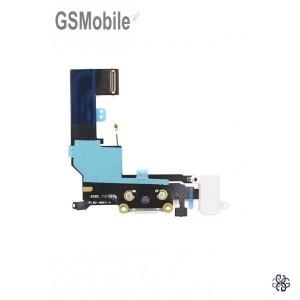 Conector de carregamento flexível para iPhone SE Branco - Vendas de peças sobressalentes em Portugal