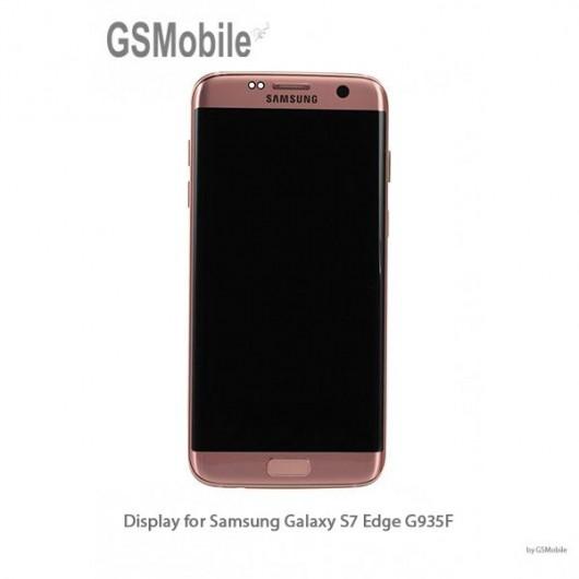 Display Samsung G935F Galaxy S7 Edge Rose Gold - Original