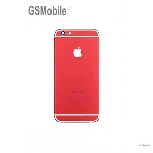 Capa traseira do chassi iPhone 7G Vermelho - Peças Originais para iPhone