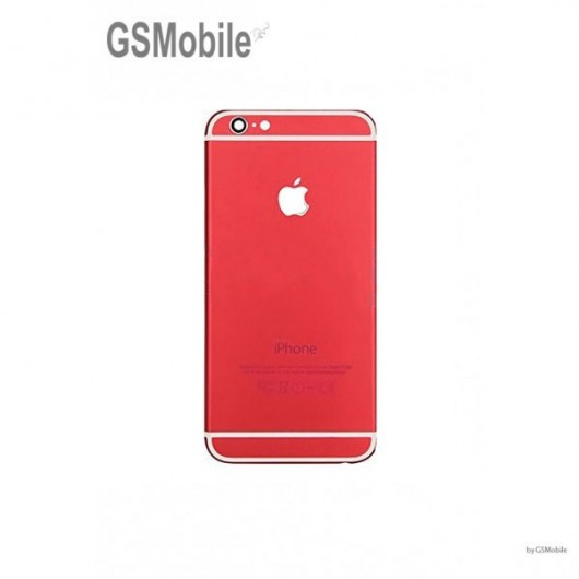 Back cover chassis for iPhone 7G Red - Original iPhone Parts