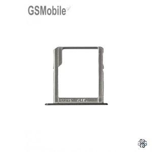 Bandeja do cartão SD preta Samsung A3 Galaxy A300F