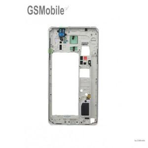 Chasis Marco Samsung Galaxy Note 4 N910F Blanco