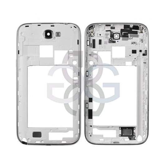 Samsung Note 2 Galaxy N7100 Middle Cover white