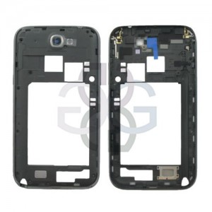 Samsung Note 2 Galaxy N7100 Middle Cover black