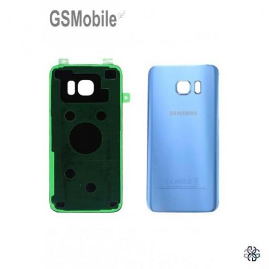 Tampa traseira Samsung S7 Edge Galaxy G935F Azul
