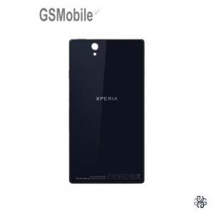 Sony Xperia Z battery cover black