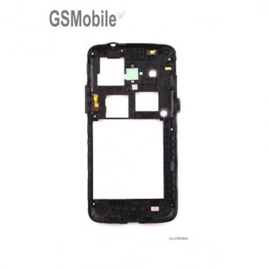 Chasis intermedio con embellecedor camara Samsung Galaxy Core 4G G386 Negro