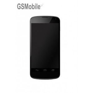 Pantalla completa LG Nexus 4 E960 - Negra - Repuestos para móviles