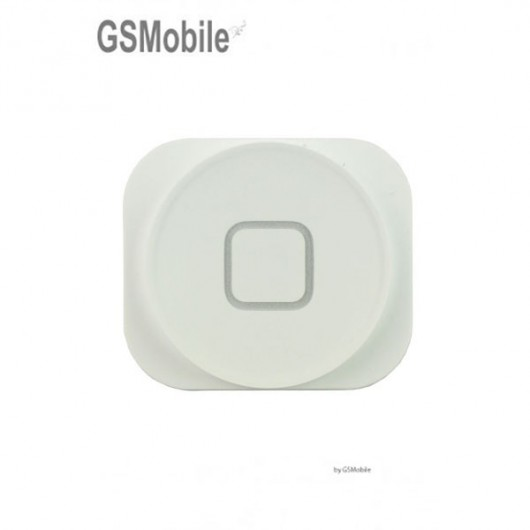home button for iPhone 5 White - Sale of Apple Replacement Components