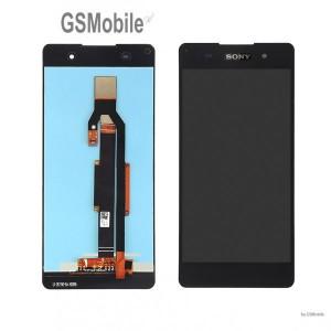 Ecrã - Display LCD Touch Sony Xperia E5 Preto