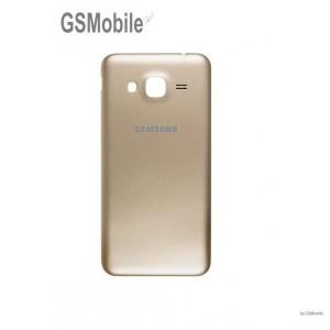 Samsung J3 2016 Galaxy J320F Battery cover gold