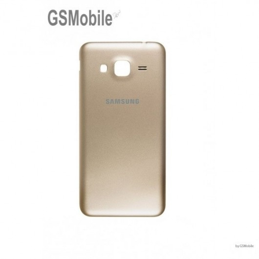 Tampa traseira Samsung J3 2016 Galaxy J320F Dourado