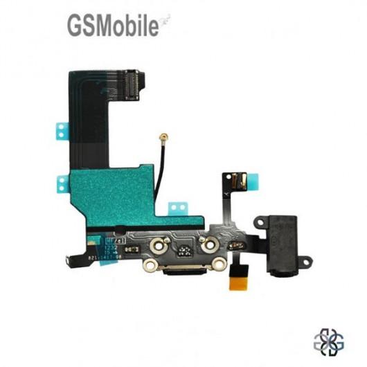 Conector de carregamento flex iPhone 5G - Venda de componentes de substituição da Apple