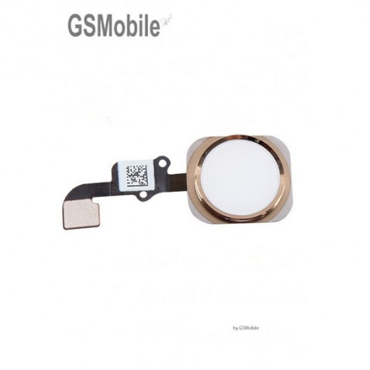 home button for iPhone 6G Gold - Sale of Apple Replacement Components