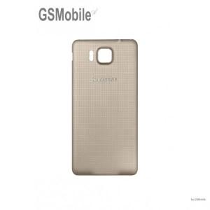 Tampa traseira para Samsung Alpha Galaxy G850F Dourado