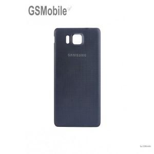 Tampa traseira para Samsung Alpha Galaxy G850F Preto