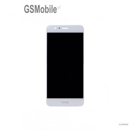 Ecrã - Display LCD Touch Huawei Honor 8 Branco