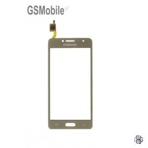 Ecrã Touch Screen dourado Samsung J2 Prime Galaxy G532