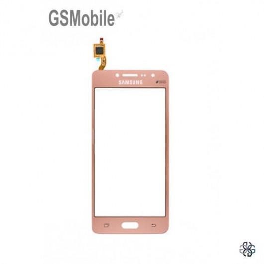 Ecrã Touch Screen rosa Samsung J2 Prime Galaxy G532