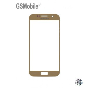 Samsung S7 Galaxy G930F Screen Glass Lens gold