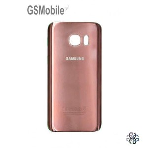 Tampa traseira Samsung S7 Galaxy G930F Rosa