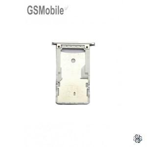 Bandeja de cartão SIM e MicroSD Xiaomi Redmi 4 Prata