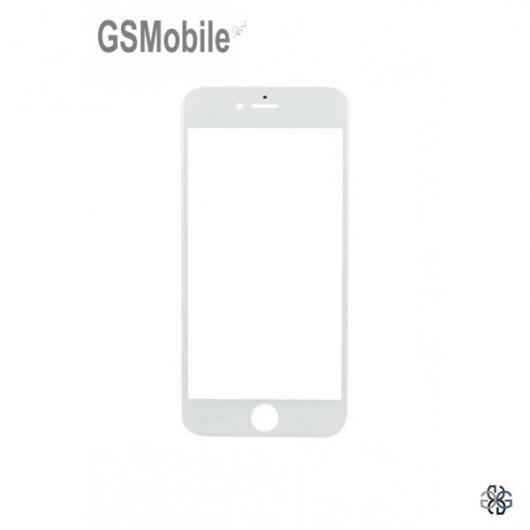 Glass for iPhone 6 Plus White - sales of apple spare parts