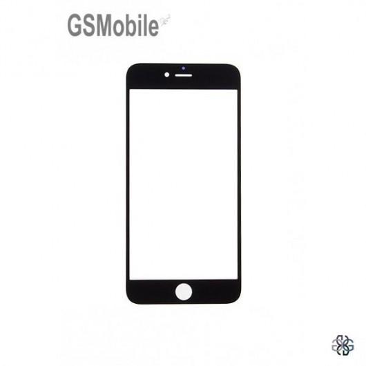 Vidro para iPhone 6 Plus Preto - vendas originais de peças sobressalentes para iPhone