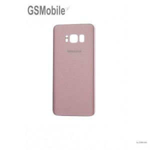Samsung S8 Plus Galaxy G955F battery cover pink