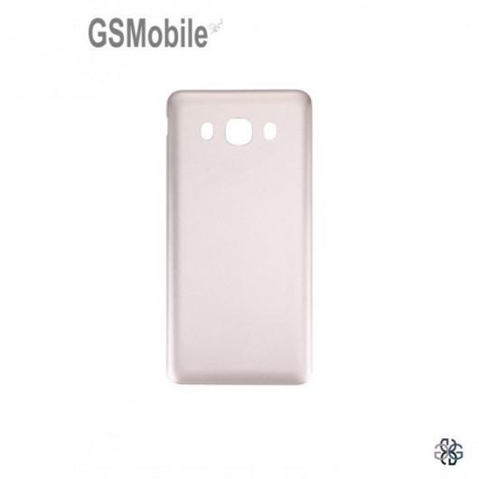 Tampa traseira para Samsung J5 2016 Galaxy J510F Dourado