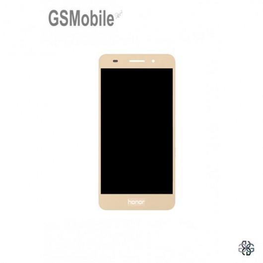 Ecrã - Display LCD Touch Huawei Y6 II Dourado