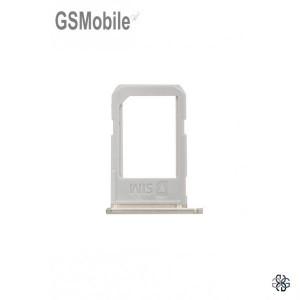 Bandeja do cartão SIM dourada Samsung S6 Edge Plus Galaxy G928F