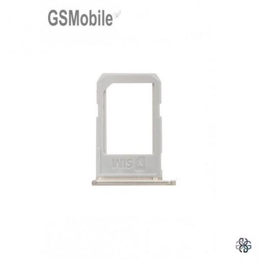 Samsung S6 Edge Plus Galaxy G928F Sim Card tray - gold