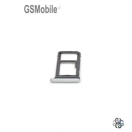 Samsung S8 Plus Galaxy G955F SIM card and MicroSD tray silver