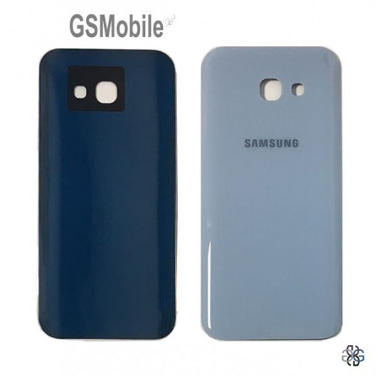Samsung A5 2017 Galaxy A520F battery cover - blue
