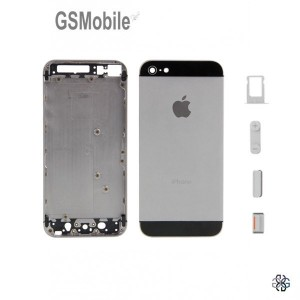 Chassis para iPhone 5S Preto - componentes originais iphone
