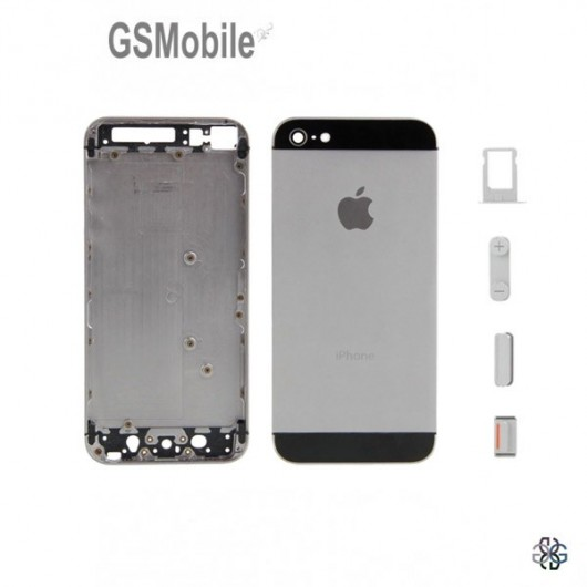 Chassis for iPhone 5S Black - spare parts for Iphone mobile