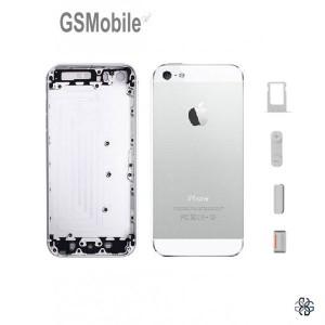 Chassis para iPhone 5G Prata - sobressalente para iphone 5