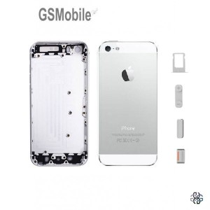 Chassis for iPhone 5 5S Silver -spare for apple iphone 5