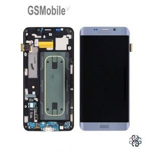 Display Samsung S6 Edge Plus Galaxy G928F Silver - Original