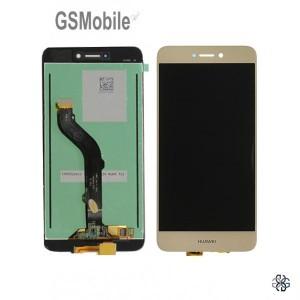 Ecrã - Display LCD Touch Huawei P8 Lite 2017 Dourado