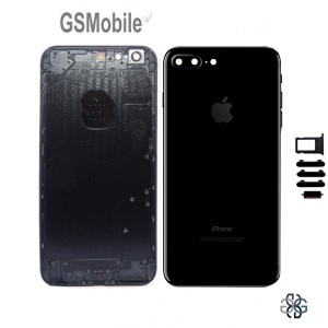 Back cover chassis for iPhone 7G Plus Black - original spare parts sale for iPhone