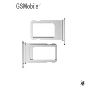 Sim Tray for iPhone  7G Plus Silver - sales of apple spare parts