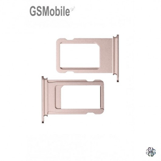 Sim Tray for iPhone  7G Plus pink - sales of apple spare parts