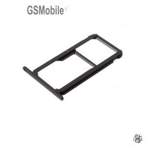 Bandeja de cartão SIM e MicroSD Huawei Honor 8 Preto Original
