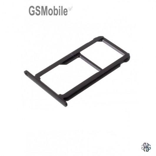 SIM card and MicroSD tray Honor 8 Black Original