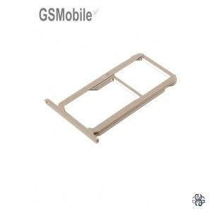 Bandeja de cartão SIM e MicroSD Huawei Honor 8 Dourado Original