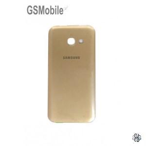 Tampa traseira Samsung A3 2017 Galaxy A320F Dourado