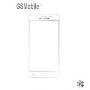 Samsung J5 2016 Galaxy J510F Screen Glass Lens white